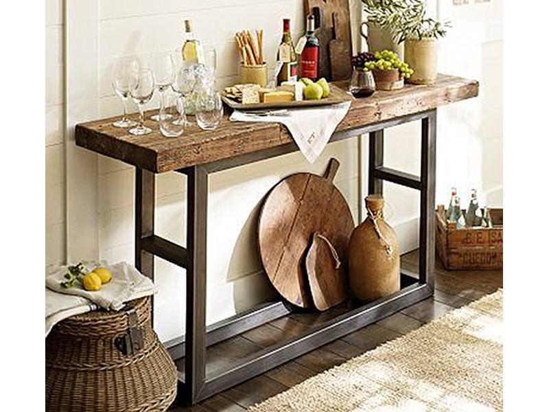 Консоль в інтер'єрі, консольний стіл в дизайні інтер'єру (фо.